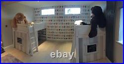 2 x Lifetime bunk cabin beds (sleeps 2x2)