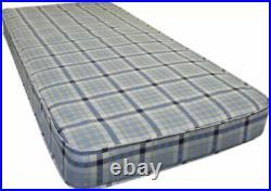 2ft6 Shorty Grey Bunk Bed + Memory Foam Sprung Flex Mattress Options