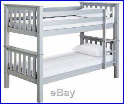 Argos Home Heavy Duty Bunk Bed Frame Grey