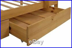 Argos Home Josie Pine Bunk Bed with Drawers