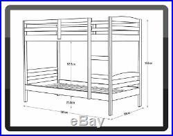 Argos Home Josie Shorty Bunk Bed Frame Pine