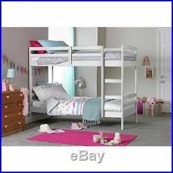 Argos Home Josie White Single Bunk Bed Frame