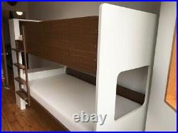 Aspace bunk bed with shelf, drawers, cupboard and ladder great condition