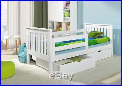 BUNK BEDS Wooden Children`s 2ft6 Small Size Basic foam MATTRESSES DRAWERS short