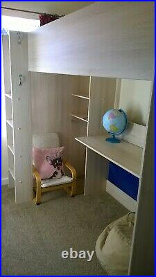 Bed Child Bunk Bed with Desk