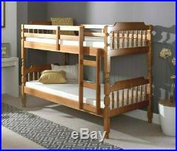 Bunk Bed Kids Bed Wooden Pine