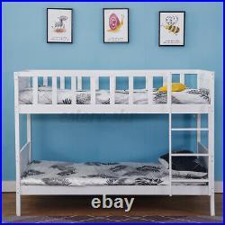 Bunk Bed Kids Wooden Single Bed Frame 3FT Bunkbeds Childrens Sleeper