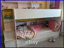 Bunk Beds incl mattresses and trundle bed
