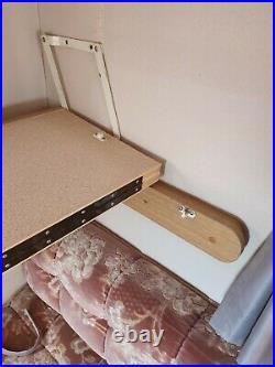 Caravan Wooden Folding Fold Out Overhead Bunk Bed Motorhome Campervan Conversion