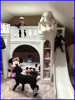 Castle Princess Single Bunk Beds