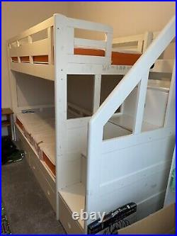 Childrens Bunk Bed with Mattresses (if wanted)