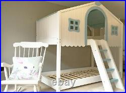 Childrens Wooden Cabin Bed / Double Bunk Bed / Custom Made to order