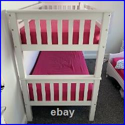 Double Trundle bunk beds with Mattresses