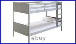 Home Detachable Bunk Bed Frame Grey