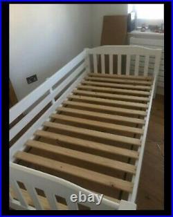 John Lewis Devon solid White wooden bunk beds