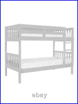 John Lewis & Partners Wilton Bunk Bed, Grey. New boxed