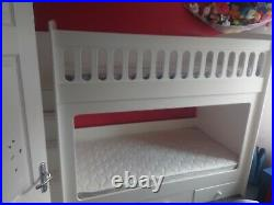 Kids Bunk Bed With Staircase And Storage