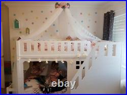 Kids Funtime Bunk Bed With Front Staircase