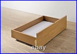 Lavish New New Triple/three Sleeper Solid Wooden Bed In Oak & White+ Drawer
