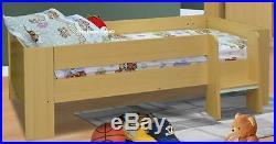 London Beech Wooden High Sleeper Bed With Desk & Wardrobe New Highsleeper Beds