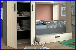 Parisot Bunk Bed with Storage