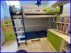 Scallywag Convertible Bed High Sleeper / Cabin Bunk / Single Bed and Futon