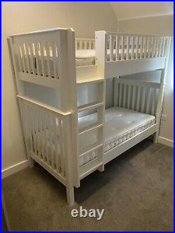 The White Company Wooden Bunk Bed with Mattresses