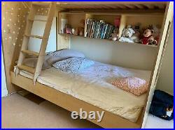 Triple Custom Bunk Bed Children Adult Kids 3 Person Bed with Mattresses