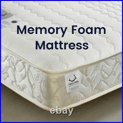 Wooden Bunk Bed, Atlantis Small Double Single 3 Colour 4 Mattress Options